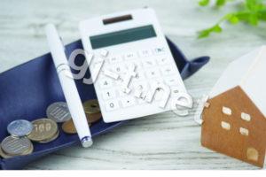 電卓とペンと小銭